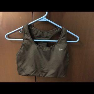Used Nike Medium Impact Sports Bra, Size L